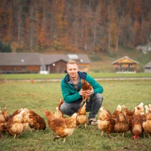 Michael Natter, Christahof, Ländle Eier, Foto: Weissengruber