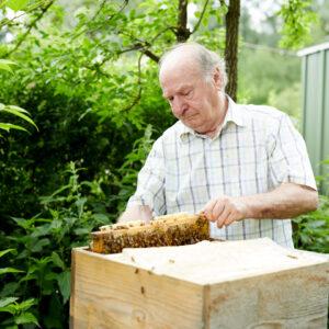 Dr. Egon Gmeiner, Ländle Honig, Foto: Christoph Pallinger