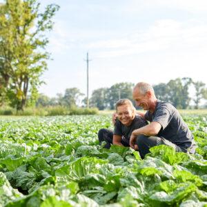 Fabienne Und Walter Gehrer, Ländle Gemüse, Foto: Christoph Pallinger