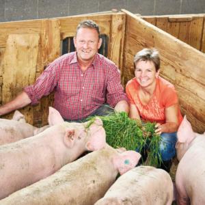 Bruno Und Christine Moosbrugger, Ländle Schwein, Foto: LQM