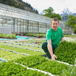 Paul Metzler, Gärtnerei Metzler, Ländle Gemüse, Foto: Christoph Pallinger