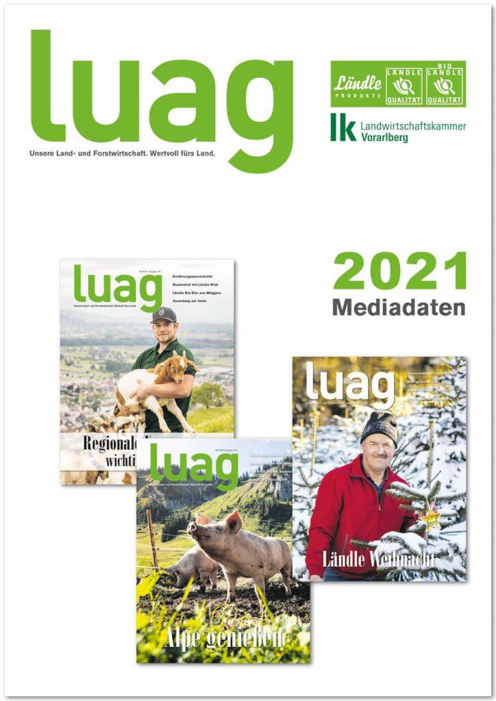 Mediadaten 2021 luag-Magazin